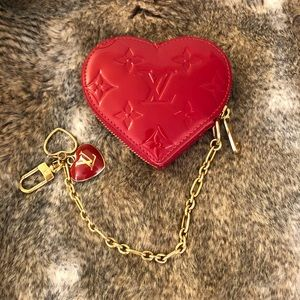 323f366b6b5a Louis Vuitton Bags - Authentic Louis Vuitton heart ❤ coin purse